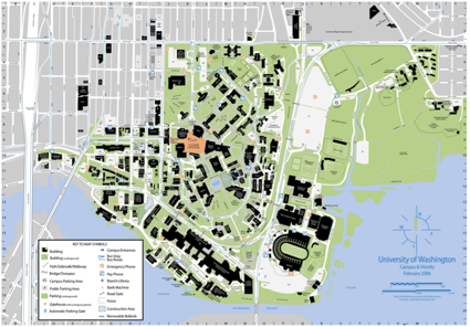 Strive3D - UW Campus Map